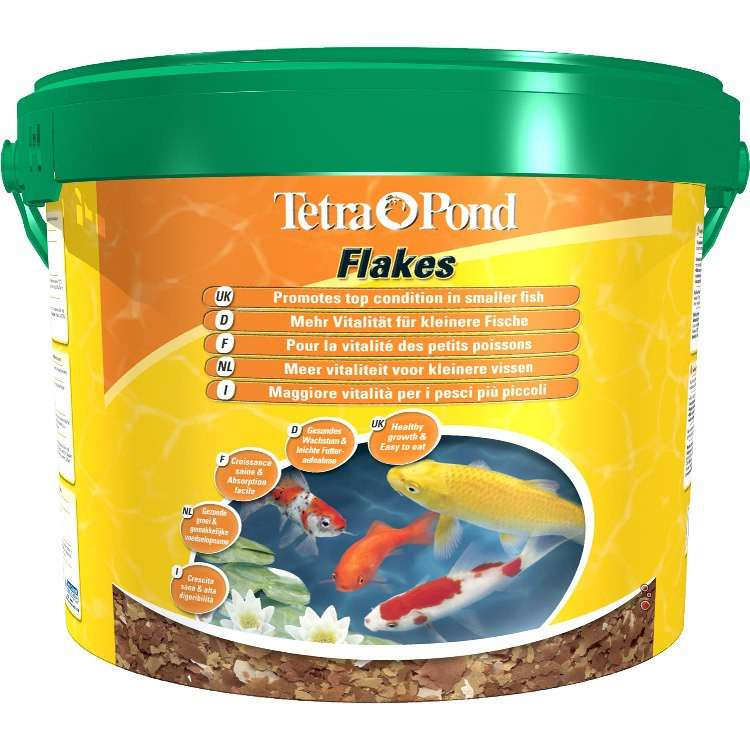 Tetra Pond Flakes 10 l  buy online