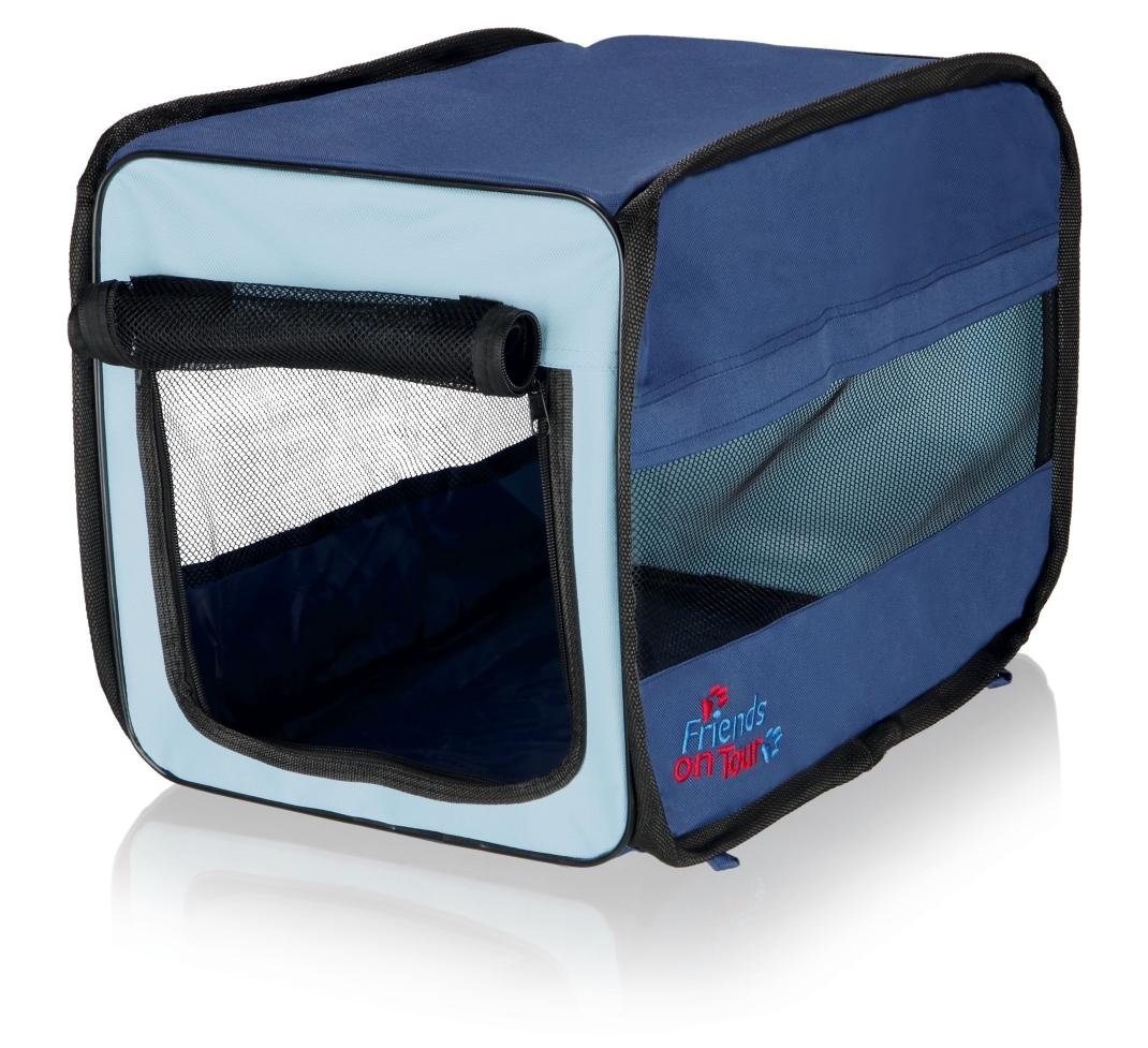 Trixie Draagbare Twister Mand, donkerblauw/lichtblauw 31×33×50 cm  met korting aantrekkelijk en goedkoop kopen