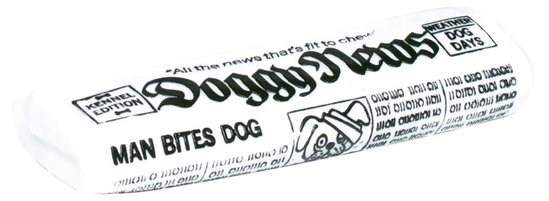 Trixie Doggy News Dagblad, vinyl Wit 18 cm met korting aantrekkelijk en goedkoop kopen