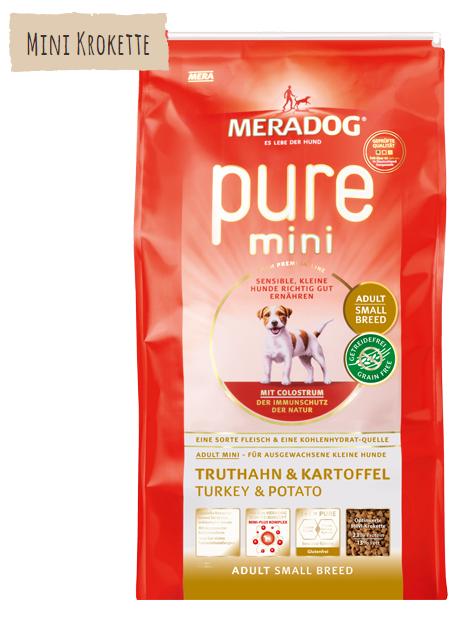 Meradog Pure Mini Perú & Batata 1 kg, 3 kg Compre a bom preço com desconto