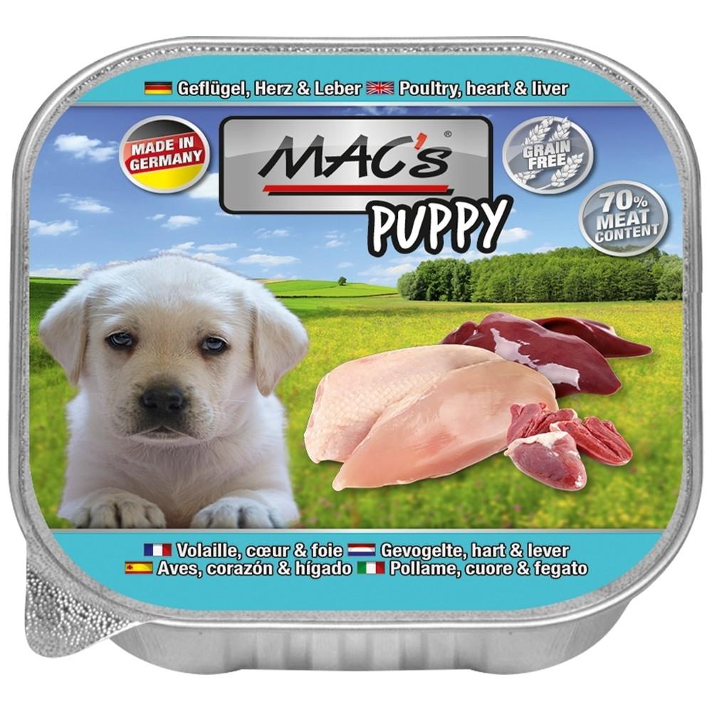 MAC's Puppy - Corral, Corazón & Hígado 150 g