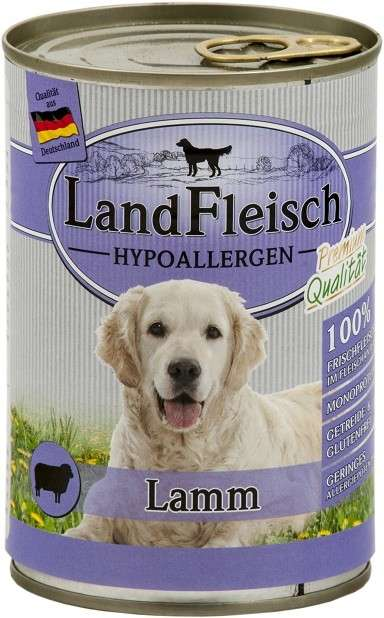 Stomach & Digestion Hypoallergen - Lamb 400g by Landfleisch Buy fair and favorable with a discount