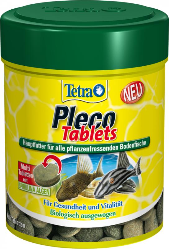 Tetra Pleco Tablets  275 Tbl