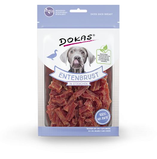 Poultry Diced Duck Breast 70g by Dokas Buy fair and favorable with a discount