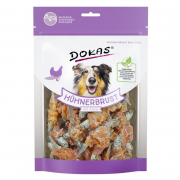 Dog snack Chicken breast with fish Dokas in high quality
