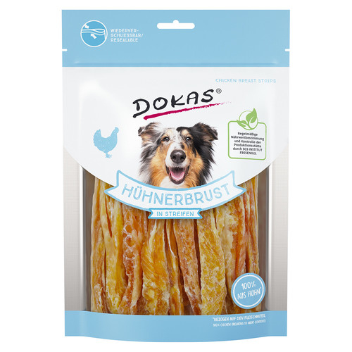 Chicken Breast Strips from Dokas 200 g, 70 g, 250 g, 500 g buy online