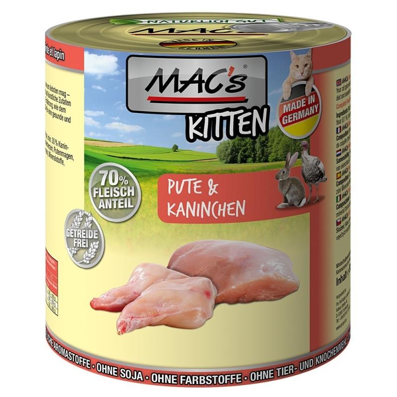 MAC's Kitten - Pato & Conejo Peso 200 g