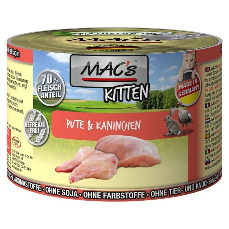 MAC's Kitten - Pato & Conejo 200 g 4027245008369 opiniones