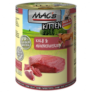 Kitten - Veal & Chicken Hearts 400 g