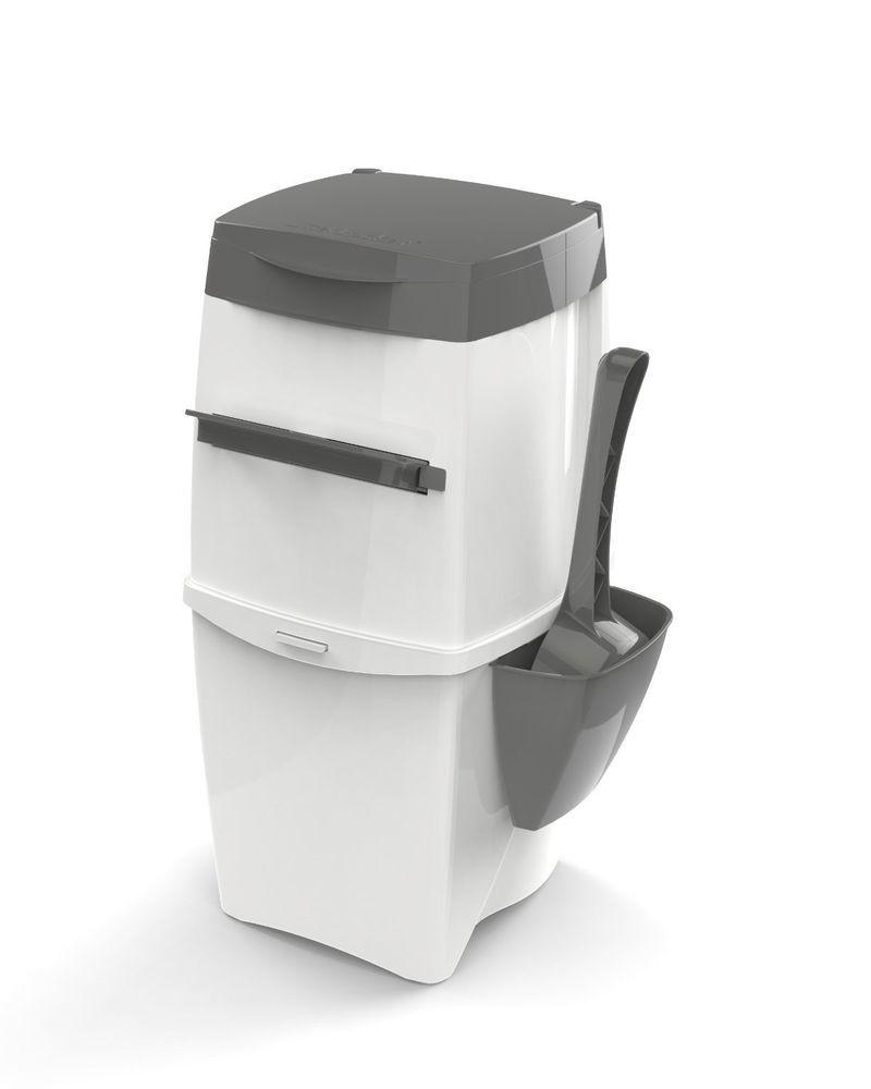 Cat litter Disposal bucket II Hvid  af Litter Locker køb rimeligt og favoribelt med rabat