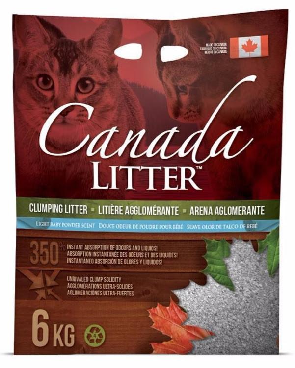 Canada LITTER Arena Aglomerante con Suave Olor a Talco de Bebé  Baby Powder  6 kg