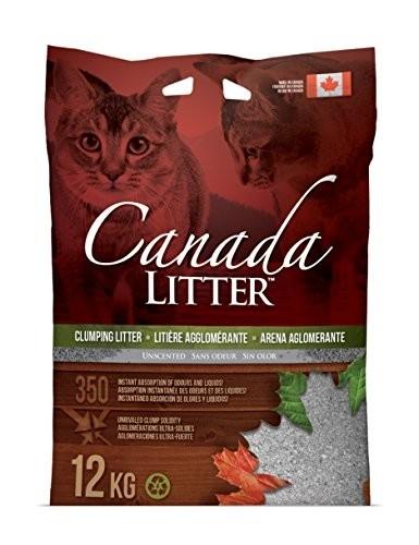 Canada LITTER Arena Aglomerante para Gatos 12 kg 0897438000128 opiniones