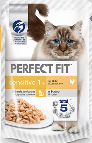 Perfect Fit Sensitive 1+ con Pollo 85 g 8410136010163 opiniones
