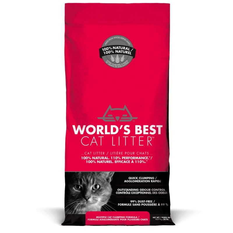 World's Best Cat Litter Multiple cat red  Red 12.7 kg order cheap