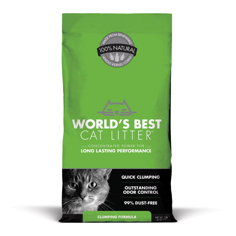 World's Best Cat Litter Clumping GREEN EAN: 0322591000956 reviews