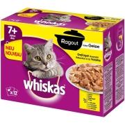 Whiskas 7+ Sélection à la Volaille en Sauce 12x85 g