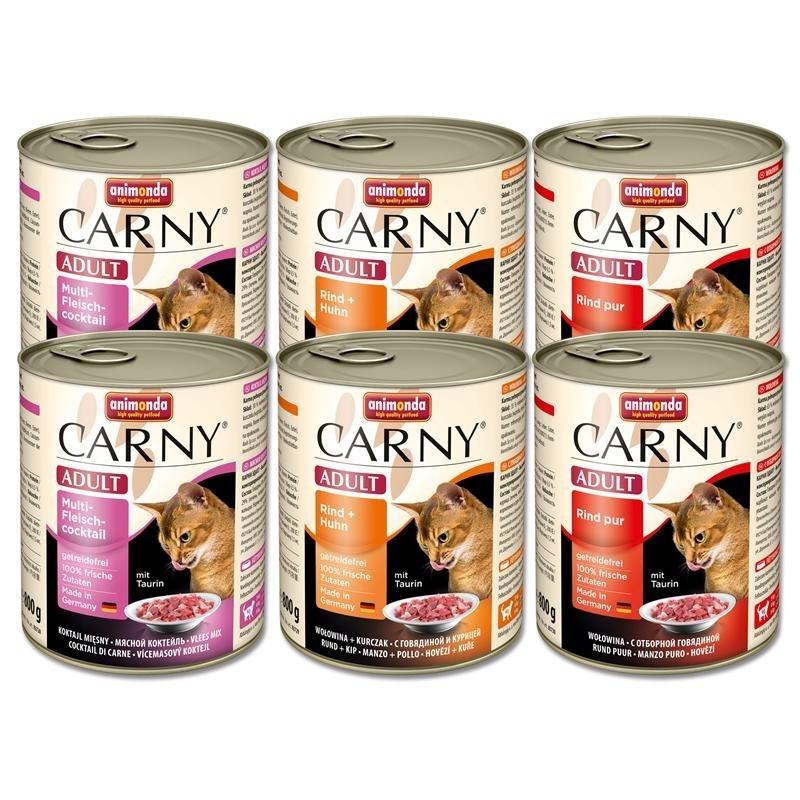 Carny Adult Mix I von Animonda 6x800 g online günstig kaufen