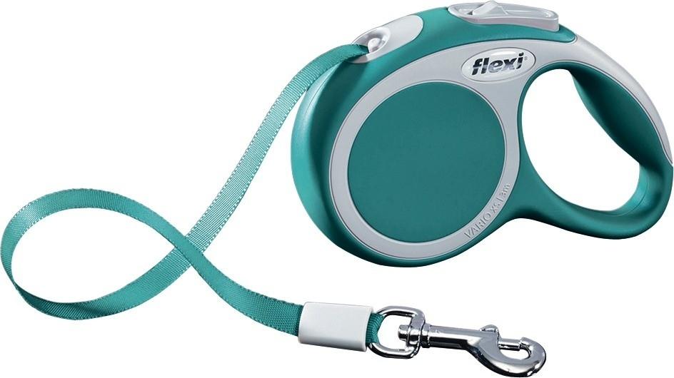 Flexi Vario XS, Rollijn met Band, turquoise  Aqua