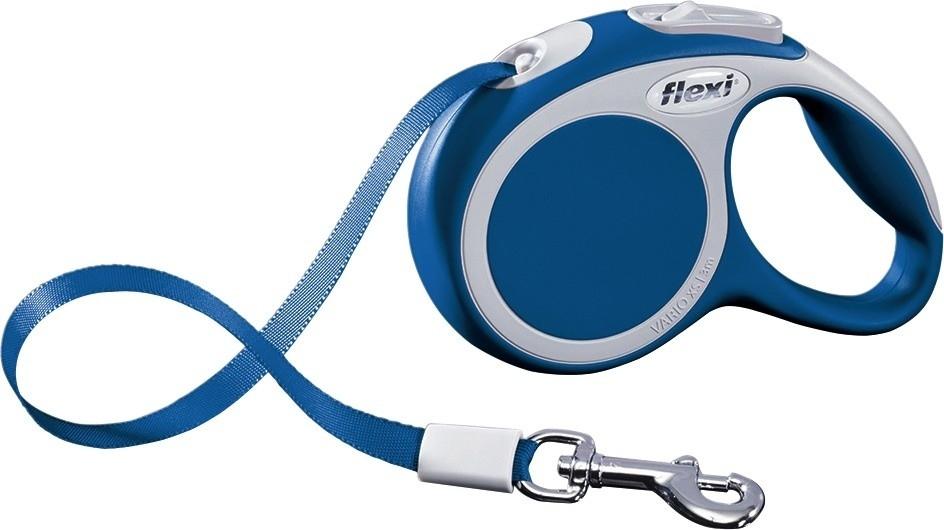 Flexi Vario XS, Rollijn met Band, blauw  Blauw