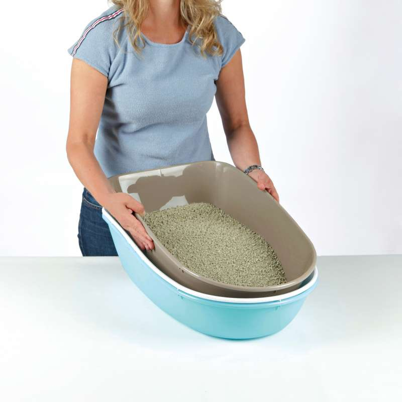 Trixie Berto Top Litter Tray, with Separating System, Threepart 39x42x59 cm 4011905401638 anmeldelser