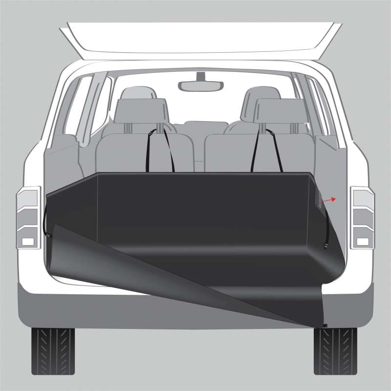 Trixie Kofferbak-Beschermdeken  1.64x1.25 m