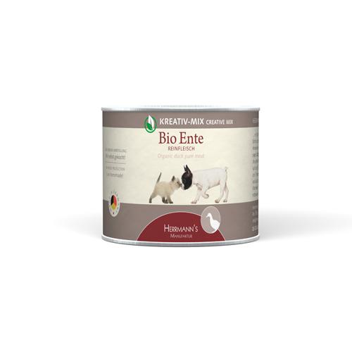 Herrmann's  Creative-Mix Viande pure Canard Bio en boîte 200 g, 400 g, 800 g, 100 g