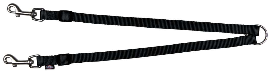 Trixie Premium Acople Negro 40-70x1.5 cm