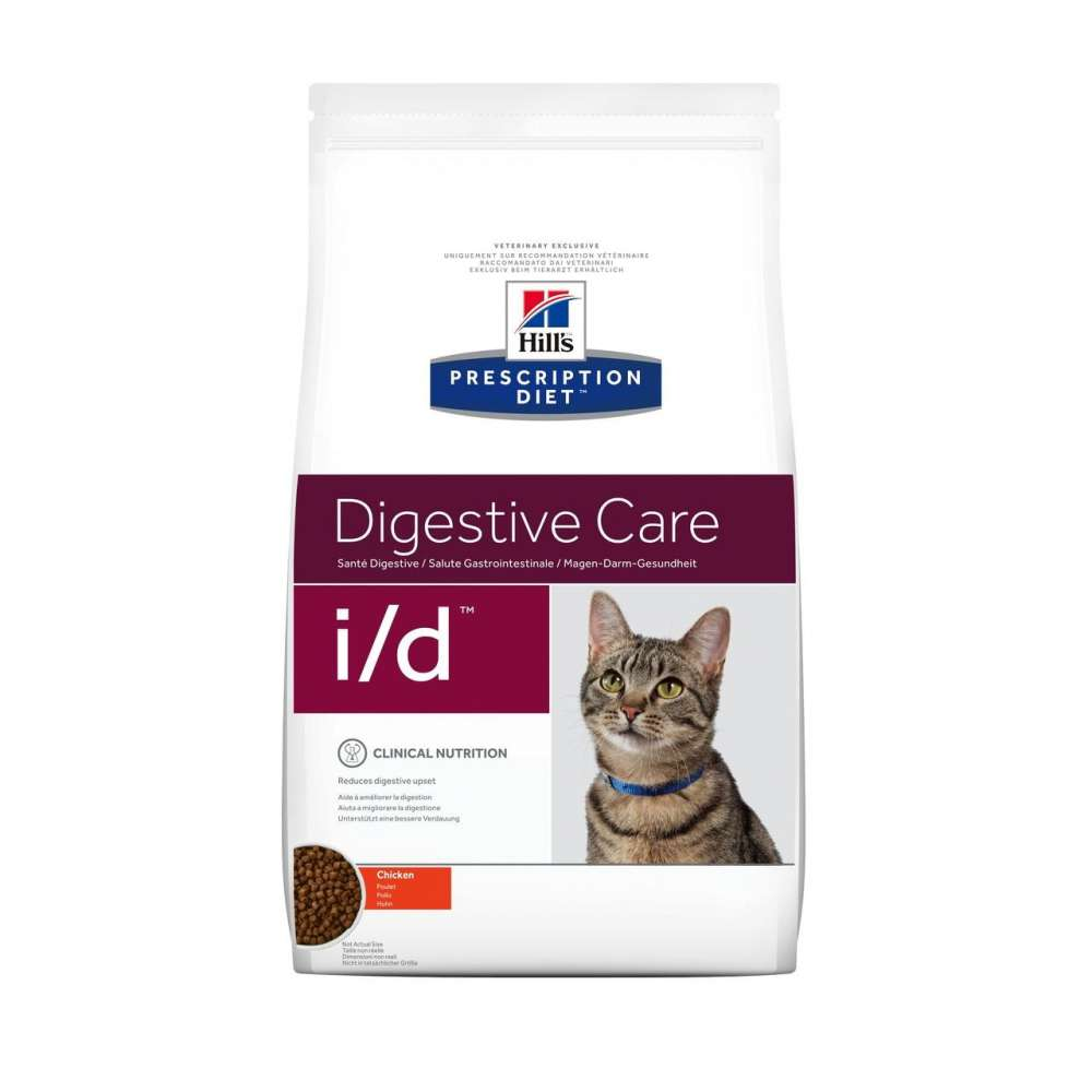 Hill's Prescription Diet Feline - i/d Digestive Care con Pollo 5 kg