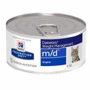 Hill's Prescription Diet Feline - m/d Diabetes / Weight Management - Original 156 g