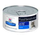 Prescription Diet z/d Feline  - Food Sensitivities - Original 156 g