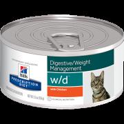 Prescription Diet Feline - w/d Digestive / Weight Management with Chicken 156 g