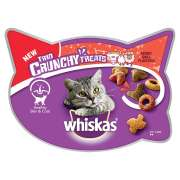 Whiskas Trio Crunchy Treats - Mixed Grill Flavours 55 g