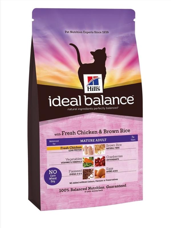 Hill's Ideal Balance Feline Mature Adult 2 kg 0052742313603 anmeldelser