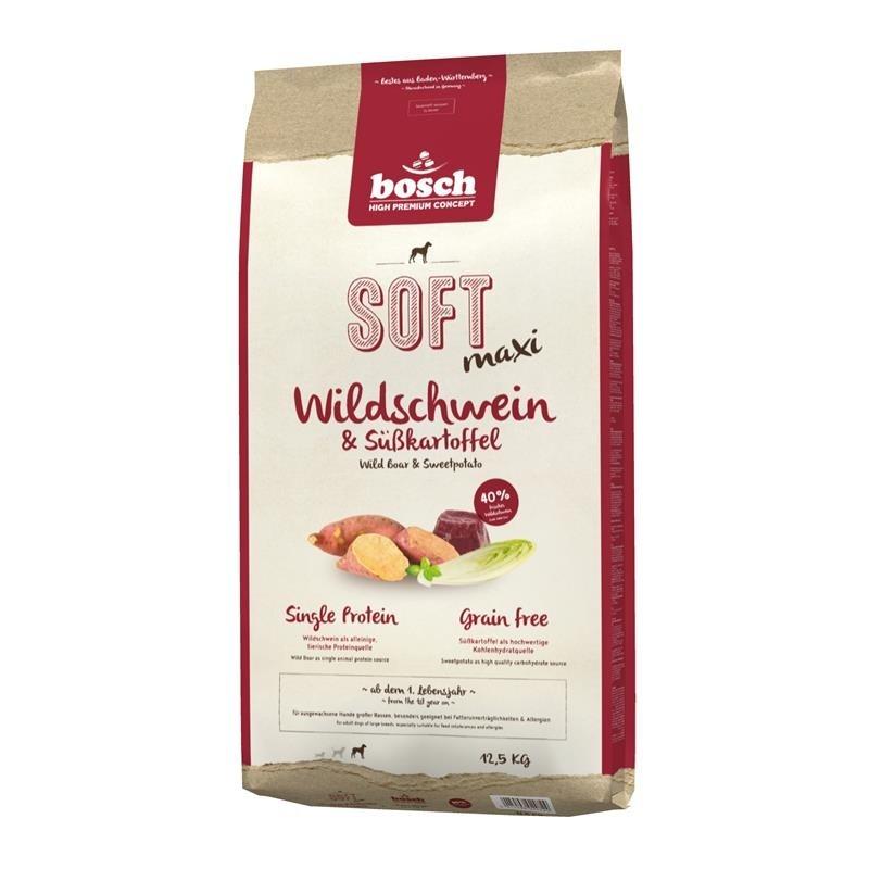 Bosch Soft Maxi - Wildschwein & Süßkartoffel 2.5 kg, 12.5 kg, 1 kg