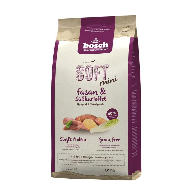Bosch Soft Mini - Pheasant & Sweet Potato 1 kg