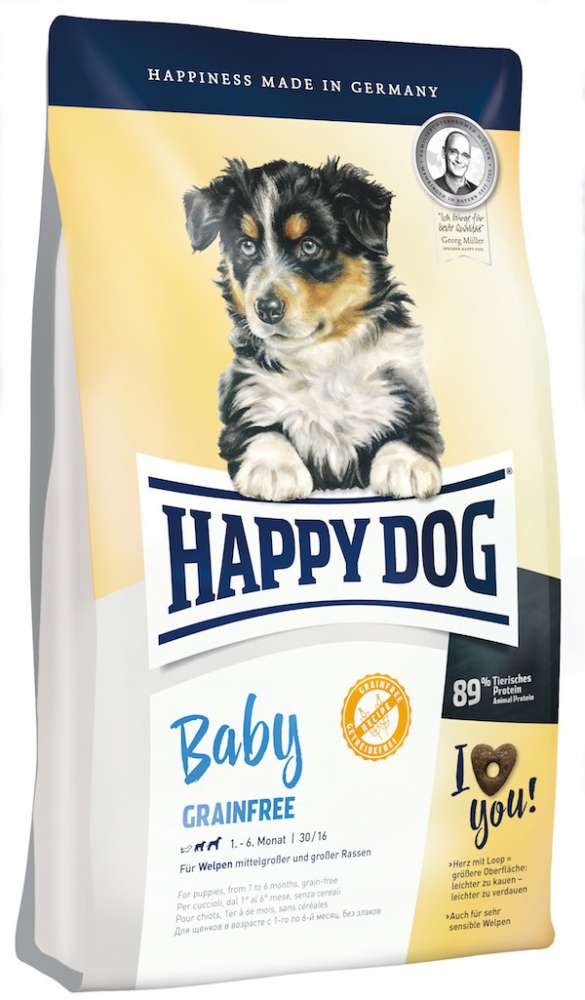 Happy Dog Supreme Young Baby Grainfree 10 kg, 1 kg