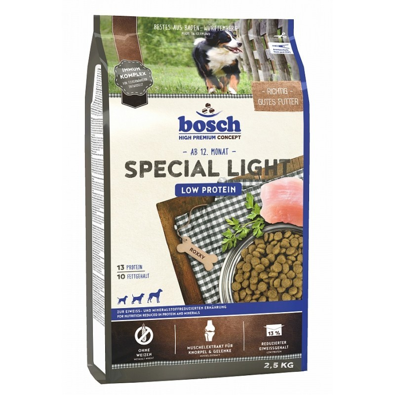 Bosch High Premium Concept - Special Light 12.5 kg, 2.5 kg