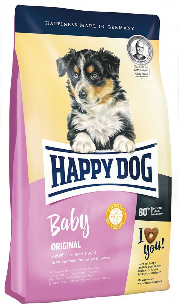 Happy Dog Supreme Young Baby Original 1 kg, 10 kg, 4 kg