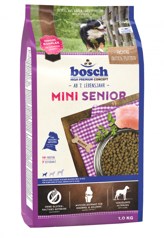 Bosch High Premium Concept - Mini Senior 1 kg 4015598013529
