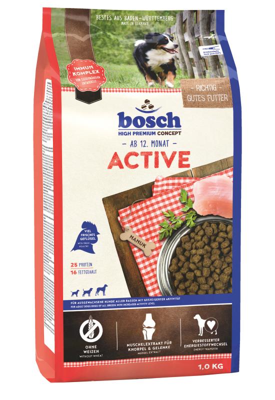 Bosch Active 3 kg, 15 kg, 1 kg