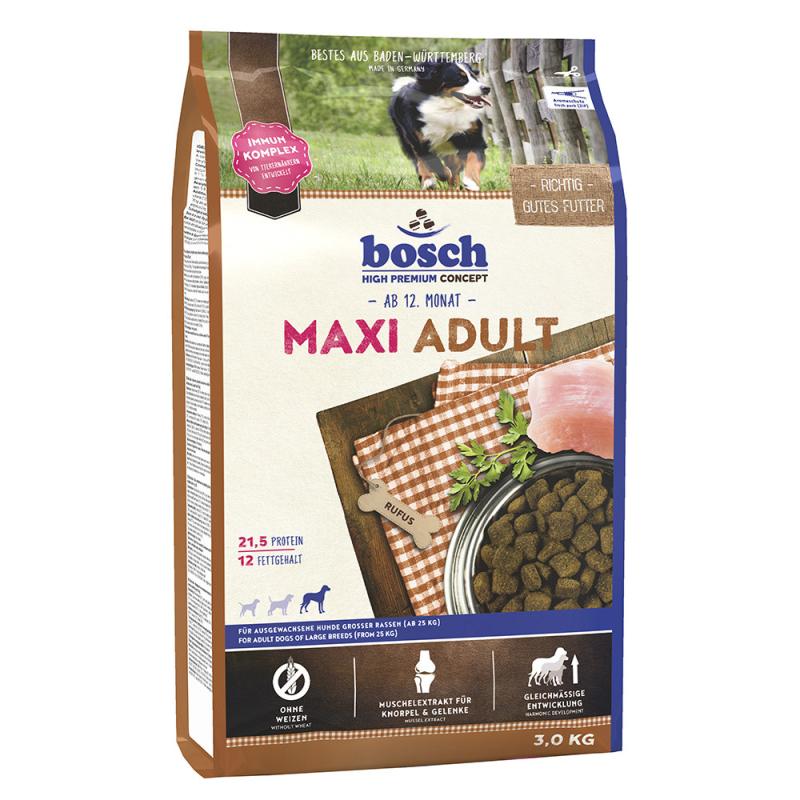 Bosch Maxi Adult 3 kg, 15 kg