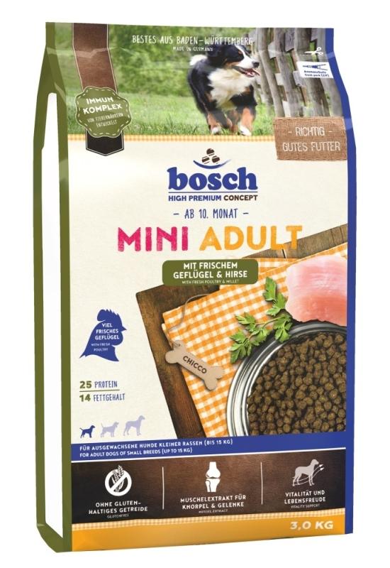 Bosch High Premium Concept - Adult Mini Gevogelte & Gierst 3 kg