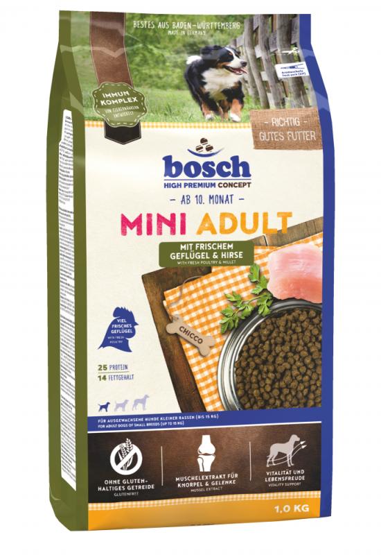 Bosch High Premium Concept - Adult Mini Gevogelte & Gierst 1 kg 4015598013086