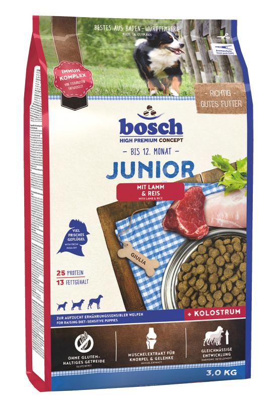 Bosch High Premium Concept - Junior Agneau & Riz  3 kg