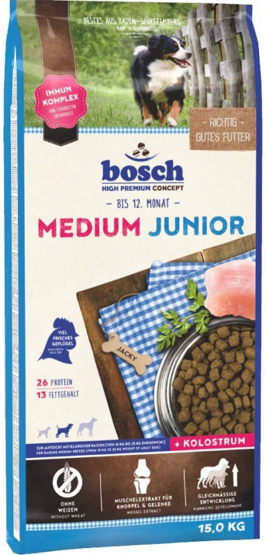 Bosch Junior Medium 3 kg, 15 kg, 1 kg