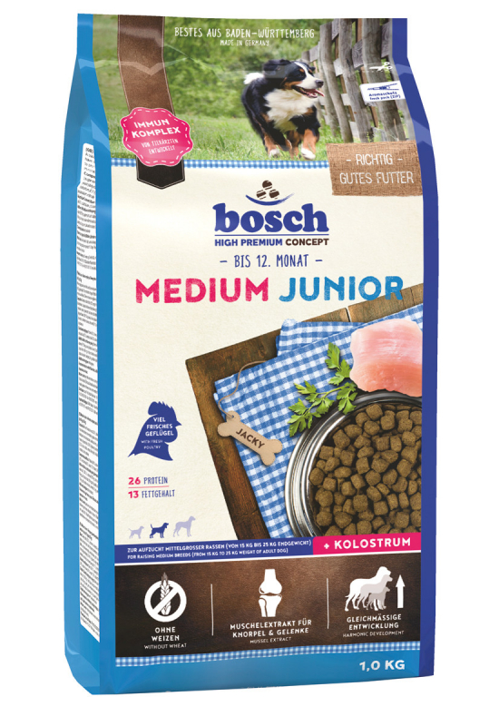 Bosch Junior Medium 1 kg, 15 kg, 3 kg test