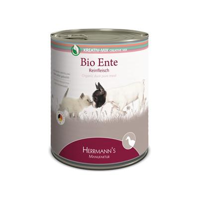 Herrmann's  Kreativ-Mix Bio Eend Puur in Blikje 800 g