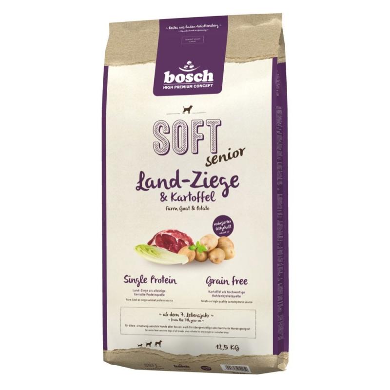 Bosch Soft Senior Geit & Aardappel Hondenvoer 12.5 kg 4015598011259