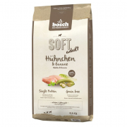 Soft Adult - Pollo & Banana Bosch 12.5 kg, 2.5 kg, 1 kg