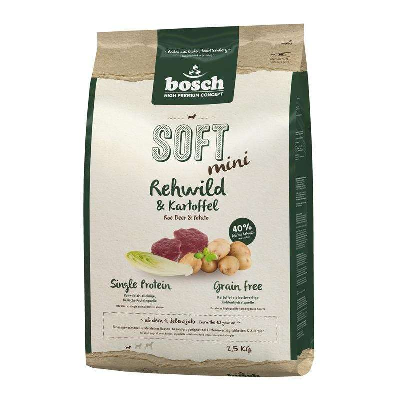 bosch Soft Mini - Roe Deer & Potato 2.5 kg